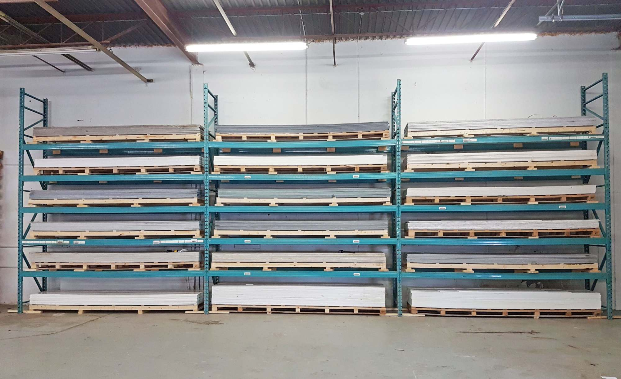 Warehouse Solid Surface Rack Two