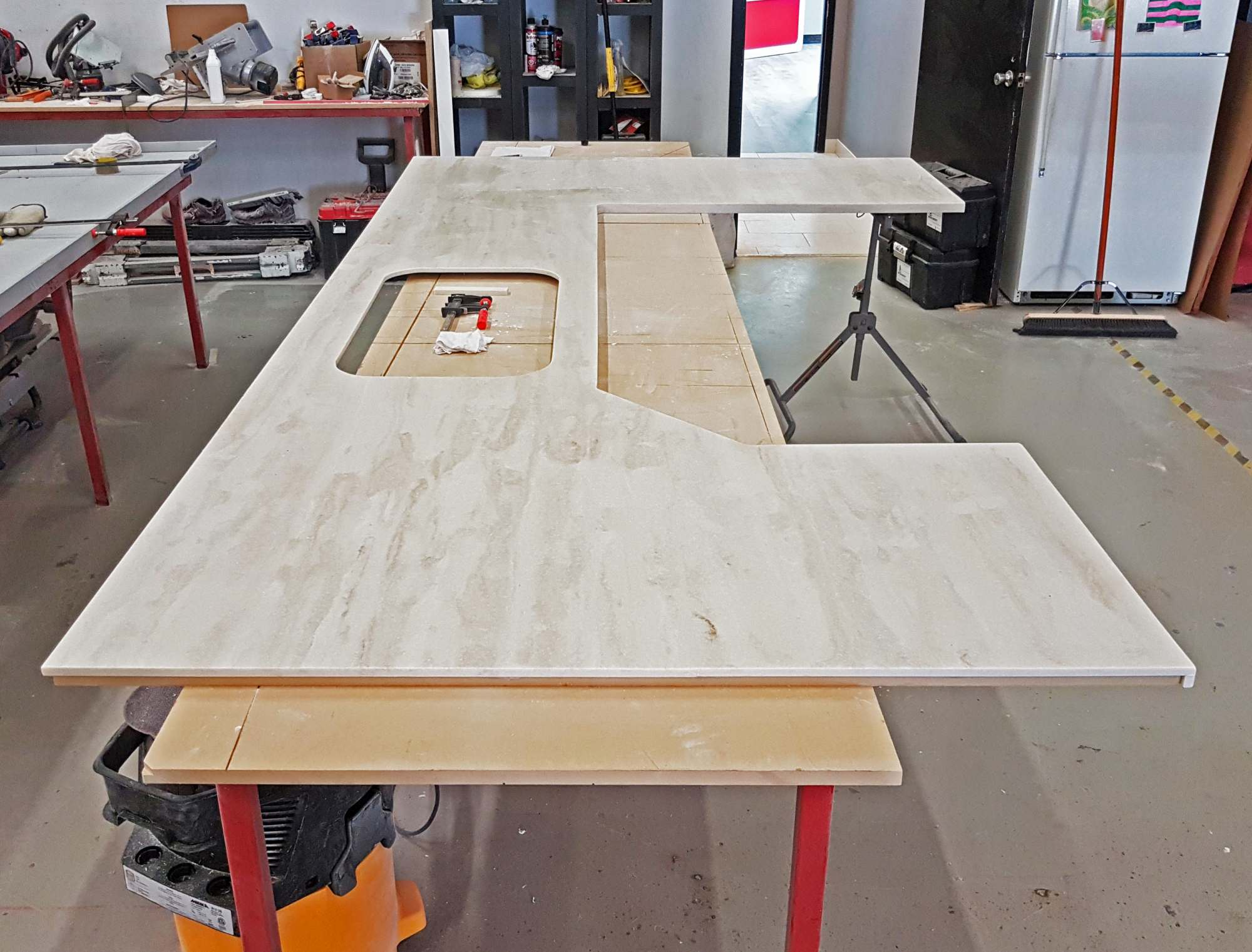 Workshop Countertop One