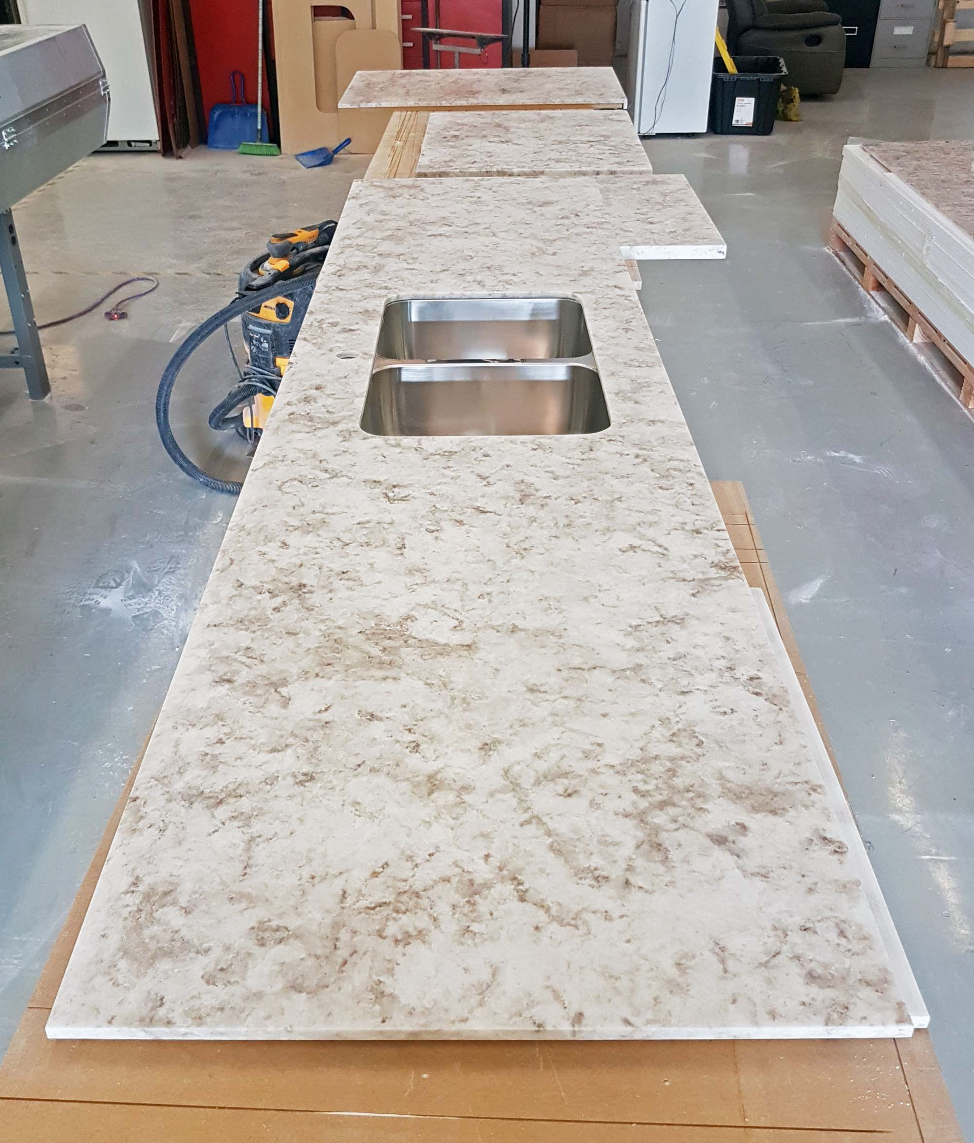 Workshop Countertop Three