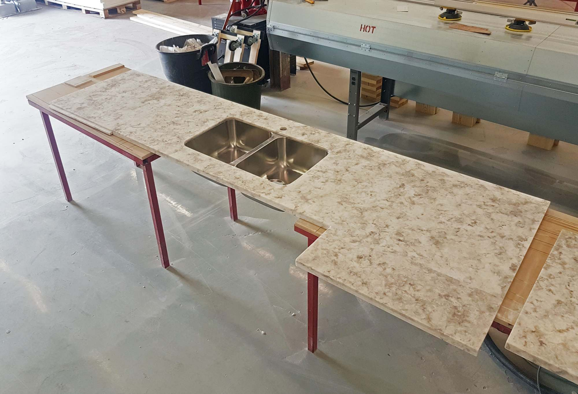 Workshop Countertop Two